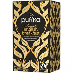 Чай органический черный Pukka Elegant English Breakfast Fairtrade Tea Pk 20