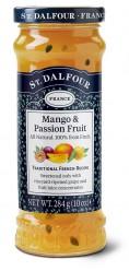 Французский джем без сахара 100% фрукты (маракуйя) 284гр.