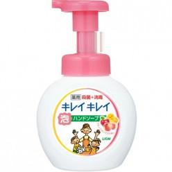 Антибактериальное мыло-пенкой для рук Kirei Kirei (ароматом роз), LION Япония 250 мл