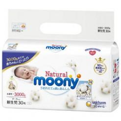 Подгузники Moony для новорождённых NB 90 (0-3кг)