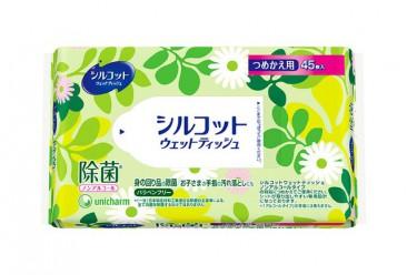 Салфетки влажные МУНИ (MOONY) детские антибактериальные мягкая упаковка 45 шт.