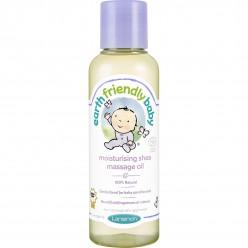 Натуральное массажное масло Earth Friendly Baby - Moisturising Shea 125 мл