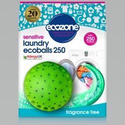 Эко-шар для стирки, без аромата, Ecozone, 250 стирок