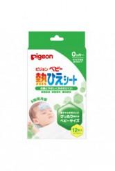 Pigeon Пластырь от температуры для детей (на лоб), 12 шт
