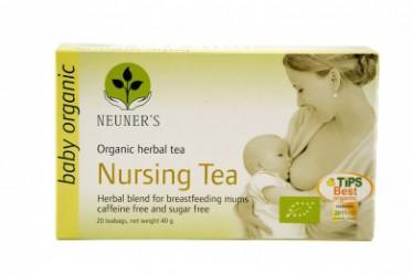 Чай органический травяной для кормящих мам, 20 пакетиков