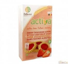 Печенье Activa со вкусом малины без сахара 150 гр