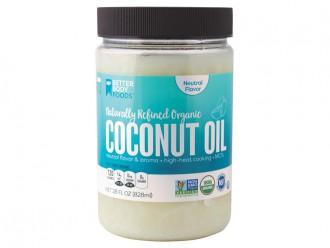 Органическое кокосовое масло холодного отжима 830мл.