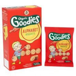 Печенье Goodies Alphabet органическое 5*25 гр