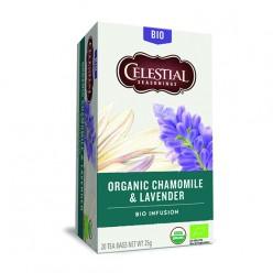 Органический чай ромашка-лаванда
