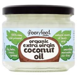 Органическое кокосовое масло холодного отжима 283мл .