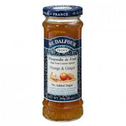 Французский джем без сахара 100% фрукты (апельсин с имбирем) 284гр.