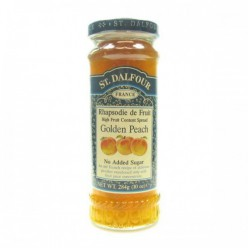 Французский джем без сахара 100% фрукты (персик) 284гр.