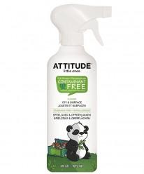 """Антибактериальное чистящее средство для игрушек и игровых поверхностей/475мл.""""Attitude"""""""