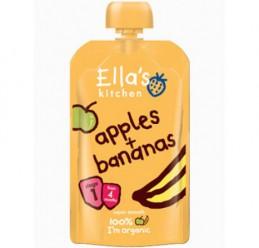 Банан,яблоко 4+мес/120гр