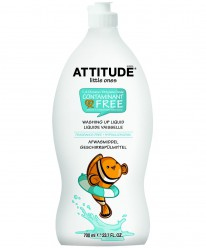 """Средство для мытья посуды  Eco-Baby/700 мл""""Attitude""""с ароматом яблока"""