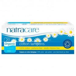 Natracare, Органические хлопковые тампоны, супер (20 шт)