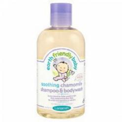 """Детский гель для мытья головы и тела""""Earth Friendly Baby""""с ромашкой 250мл."""