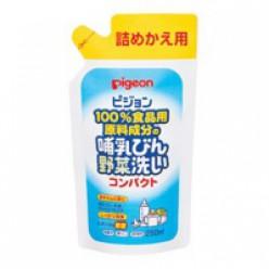Моющее средство Pigeon для мытья сосок, молочных бутылок, овощей и детских игрушек (сменная упаковка) 700мл.