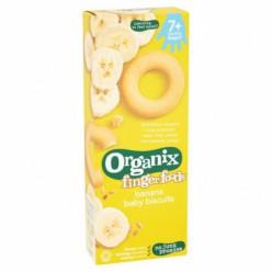 Органическое печенье  с бананом 10+мес 54гр.