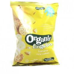 Органические рисовые хлебцы с бананом 7+мес.50гр.
