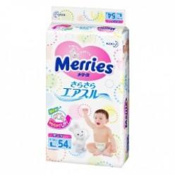 Подгузники Merries L 54 (9-14кг)