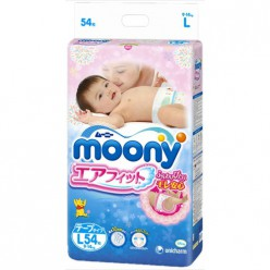 Подгузники Moony L 54 (9-14кг)
