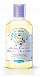 """Детский гель для мытья головы и тела """"Earth Friendly Baby"""" с лавандой 250мл."""
