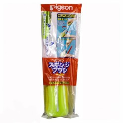 Щетка с губкой  для мытья детских бутылочек 1шт