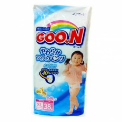 Трусики GooN Super Jumbo для девочек BIG 38 (12-20кг)