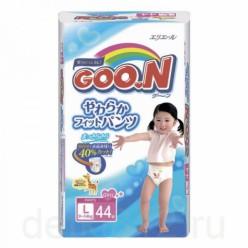 Трусики GooN Super Jumbo для девочек L 44 (9-14кг)