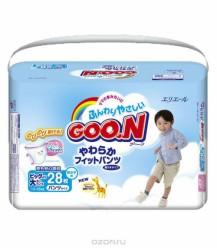 Трусики GooN Super Jumbo для мальчиков Super BIG 28 (13-25кг)