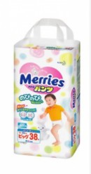Трусики Merries XL 38 (12-22кг)