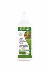 """Жидкость для мытья овощей и фруктов """"Bentley Organic"""" 500мл"""